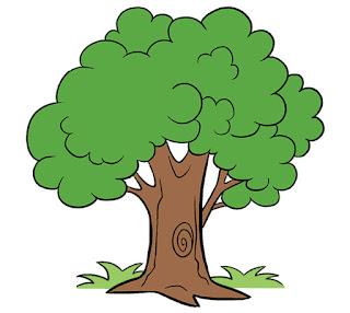 طريقة رسم الشجرة للمبتدئين