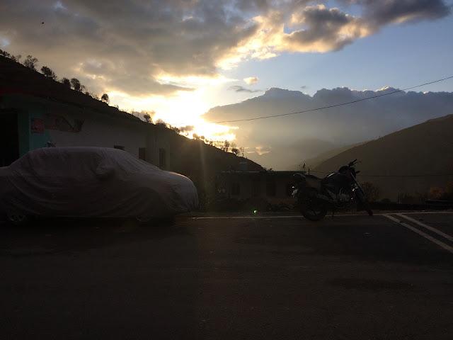 Scenic dawn