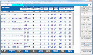 1 Sales Register MIS Report SuperERP Accounting Software