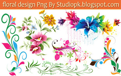 Floral Designs Png Download