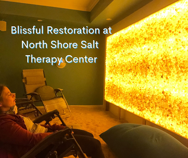 Morning of Blissful Restoration at North Shore Salt Therapy Center in Highland Park, Illinois