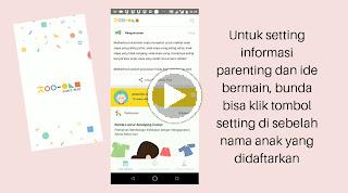 Video cara mengganti tampilan informasi chai's play anak satu dengan yang lain
