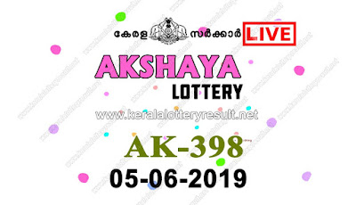 KeralaLotteryResult.net, kerala lottery kl result, yesterday lottery results, lotteries results, keralalotteries, kerala lottery, keralalotteryresult, kerala lottery result, kerala lottery result live, kerala lottery today, kerala lottery result today, kerala lottery results today, today kerala lottery result, Akshaya lottery results, kerala lottery result today Akshaya, Akshaya lottery result, kerala lottery result Akshaya today, kerala lottery Akshaya today result, Akshaya kerala lottery result, live Akshaya lottery AK-398, kerala lottery result 05.06.2019 Akshaya AK 398 05 June 2019 result, 05 06 2019, kerala lottery result 05-06-2019, Akshaya lottery AK 398 results 05-06-2019, 05/06/2019 kerala lottery today result Akshaya, 05/6/2019 Akshaya lottery AK-398, Akshaya 05.06.2019, 05.06.2019 lottery results, kerala lottery result June 05 2019, kerala lottery results 05th June 2019, 05.06.2019 week AK-398 lottery result, 5.6.2019 Akshaya AK-398 Lottery Result, 05-06-2019 kerala lottery results, 05-06-2019 kerala state lottery result, 05-06-2019 AK-398, Kerala Akshaya Lottery Result 5/6/2019