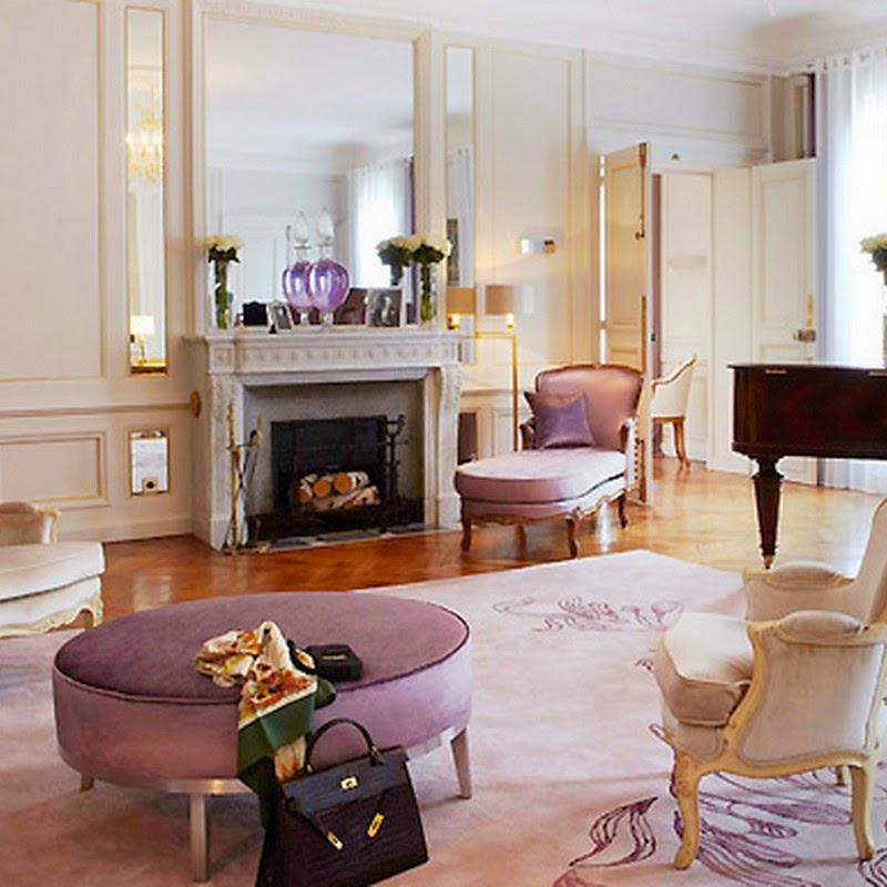 Interiors Cool Chic Style Fashion  Elegance, Blush pink,
