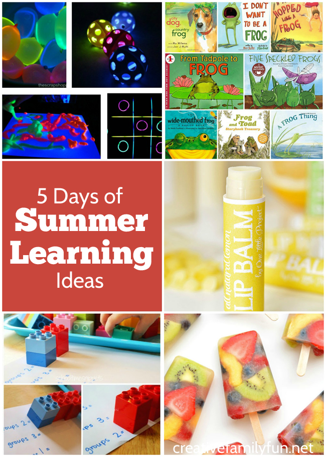 Summer learning ideas from the After School Linky Party