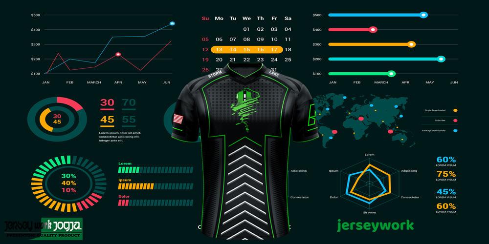 jersey gaming desain