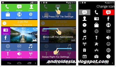 Nokia X launcher - tema android