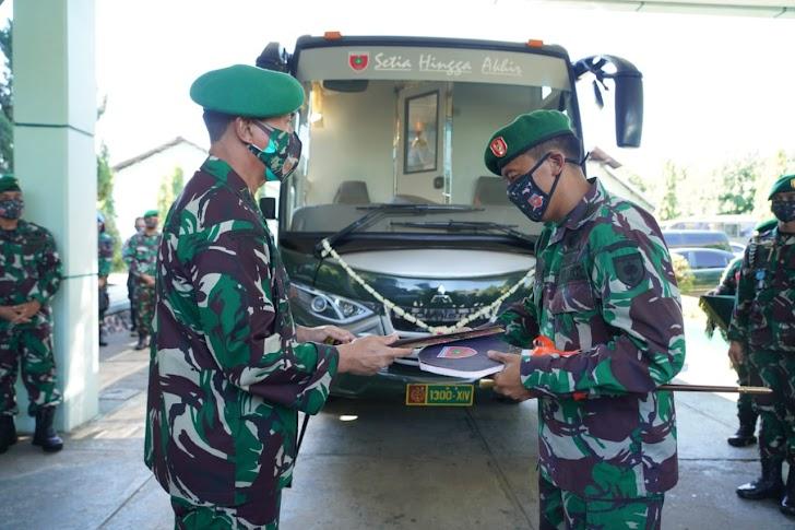Beri Kodam Hasanuddin Bus VVIP, Ini Pesan Mayjen TNI Andi Sumangerukka jika Tidak Lagi Jabat Pangdam
