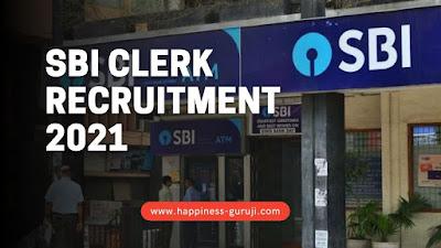 SBI Clerk Recruitment 2021 - Apply online for 5121 Vacancy