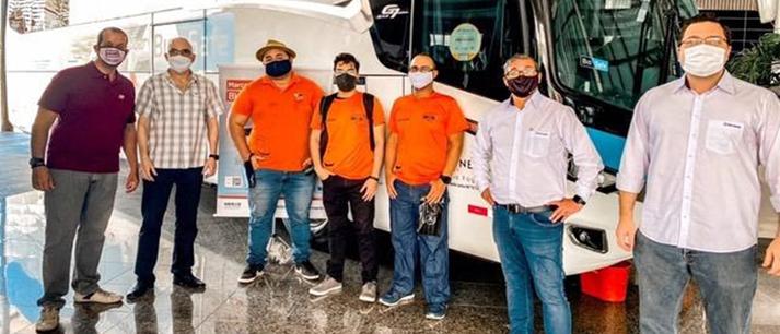 Marcopolo apresenta plataforma BioSafe para empresários no Ceará