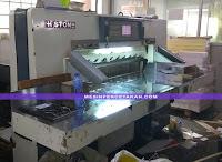 Mesin potong kertas bekas   QZYX 104 HISTONE