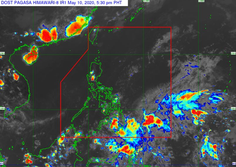'Bagyong Ambo' PAGASA weather update May 10, 2020