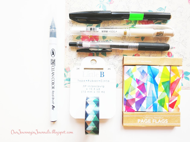 pens, markers, and other stationery from kinokuniya