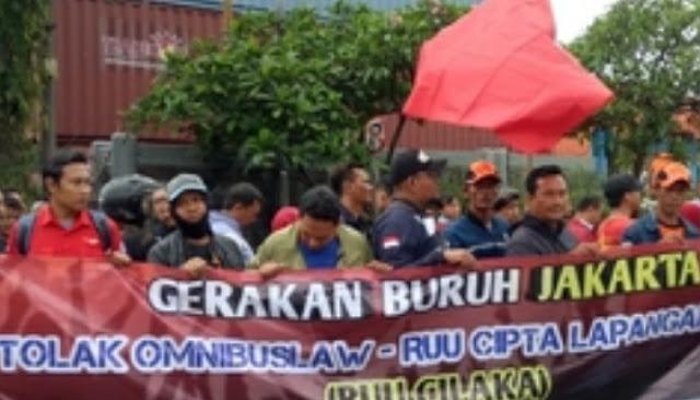 Ogah Bawa ke MK, Buruh: Kami Tetap Aksi sampai UU Ciptaker Dibatalkan!