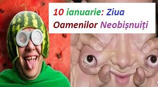 10 ianuarie: Ziua Oamenilor Neobișnuiți