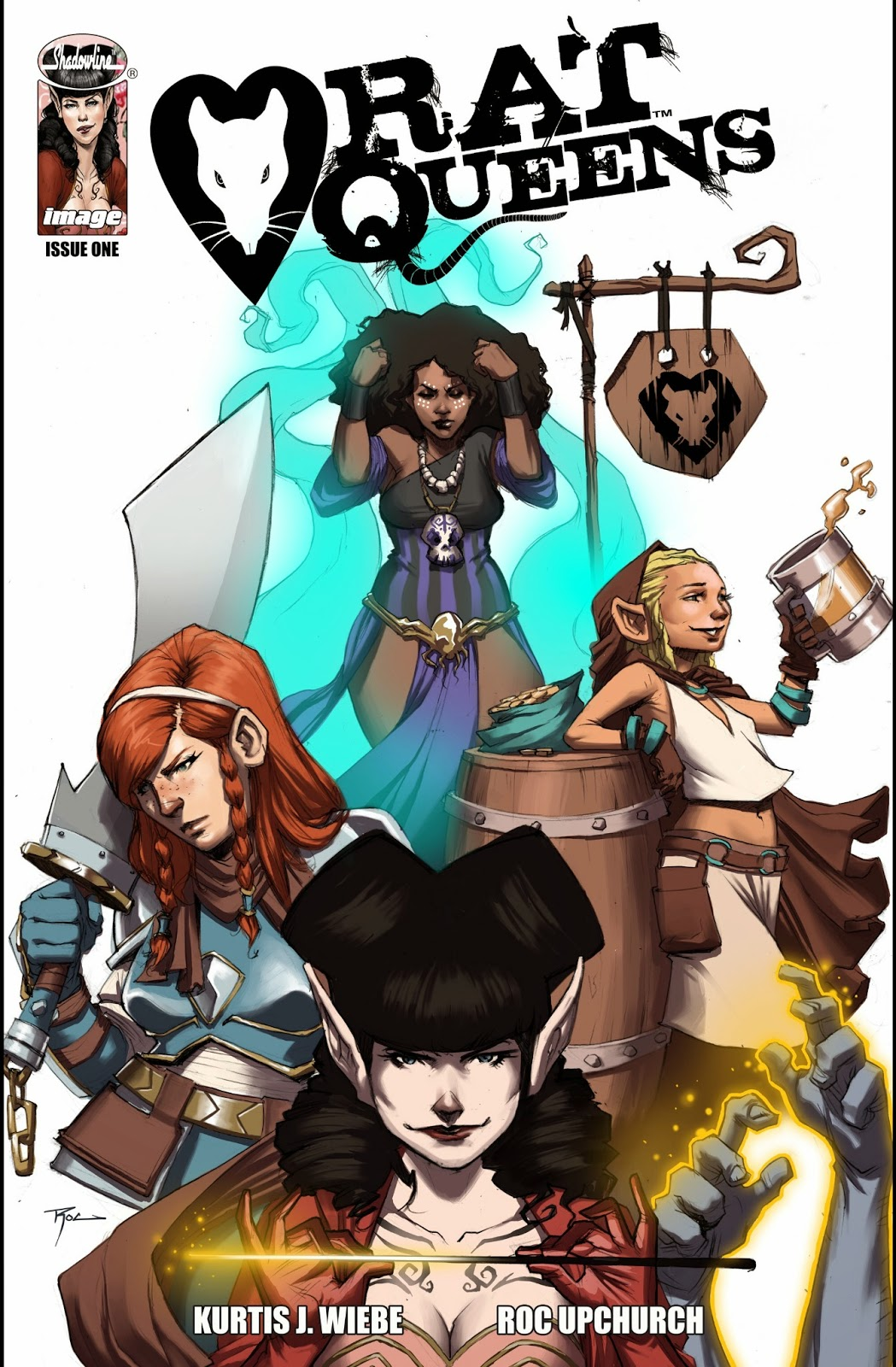 Rat Queens by Meg Dejmal and Kurtis J. Wiebe