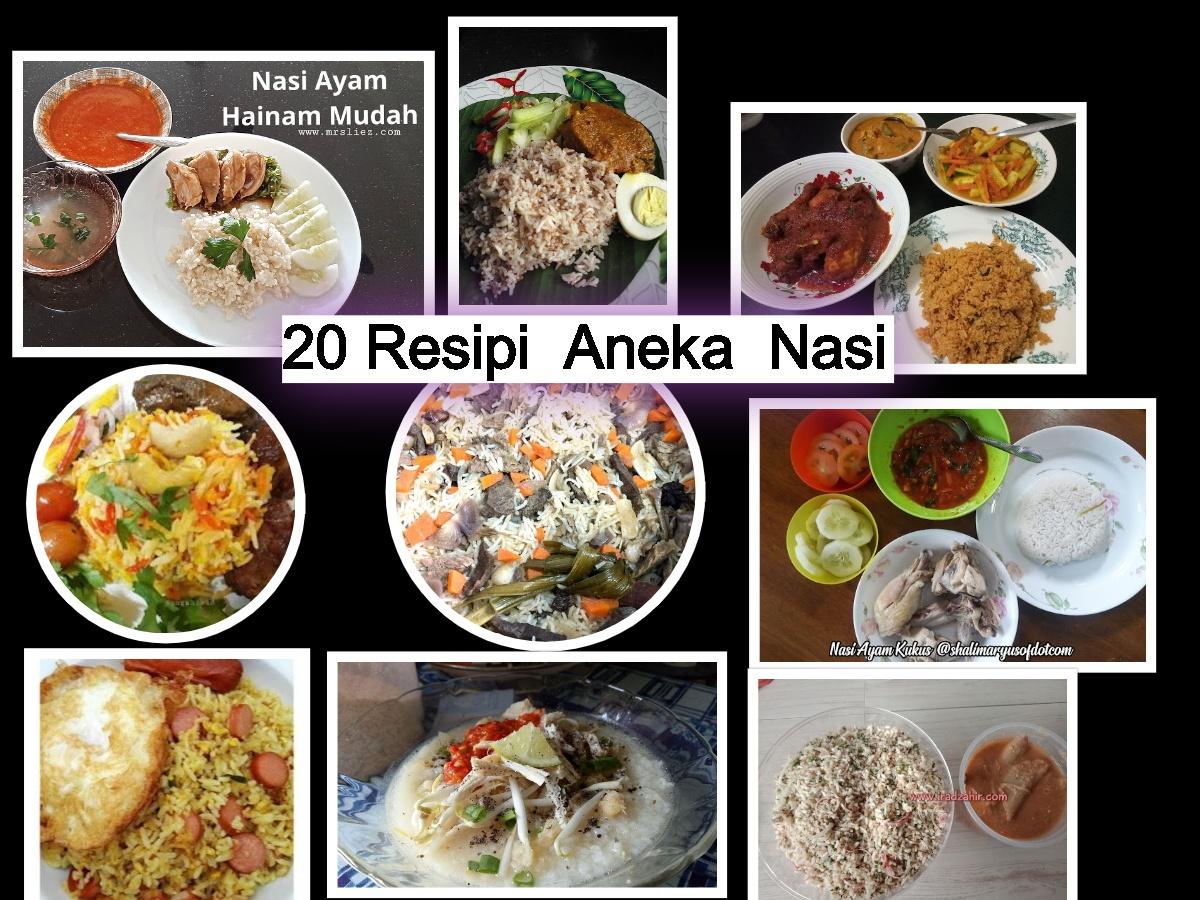 resepi nasi tomato berlauk escuelainfantilheidiland Resepi Gulai Ikan Kering dan Nanas Kelantan Enak dan Mudah