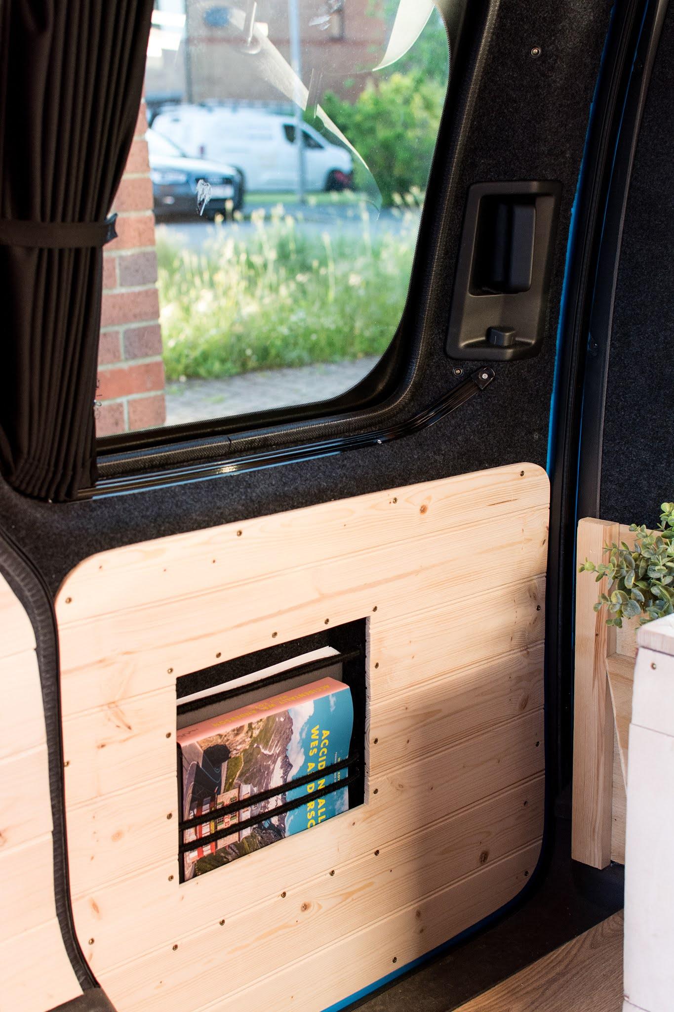VW caddy camper side door