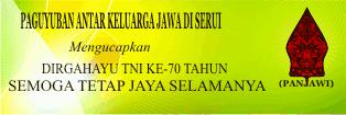 Download Contoh Spanduk Kerukunan Panjawi  Untuk Ucapan HUT TNI ke-70