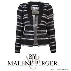 Princess Marie wore By Malene Birger Cardigan