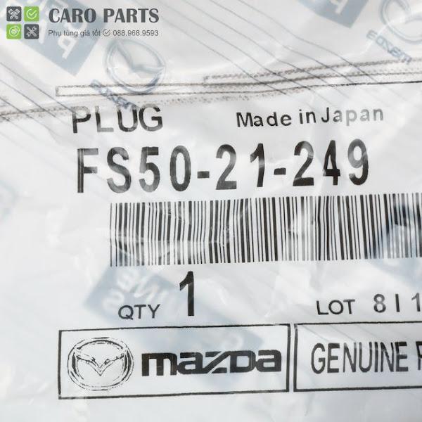 Ốc xả dầu| Ốc rốn dầu Mazda | FS5021249| Ốc lục giác rốn dầu Mazda