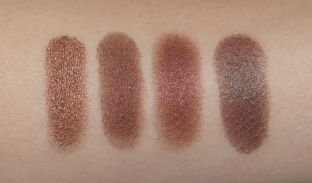 mac eyeshadows tempting mulch twinks club swatches