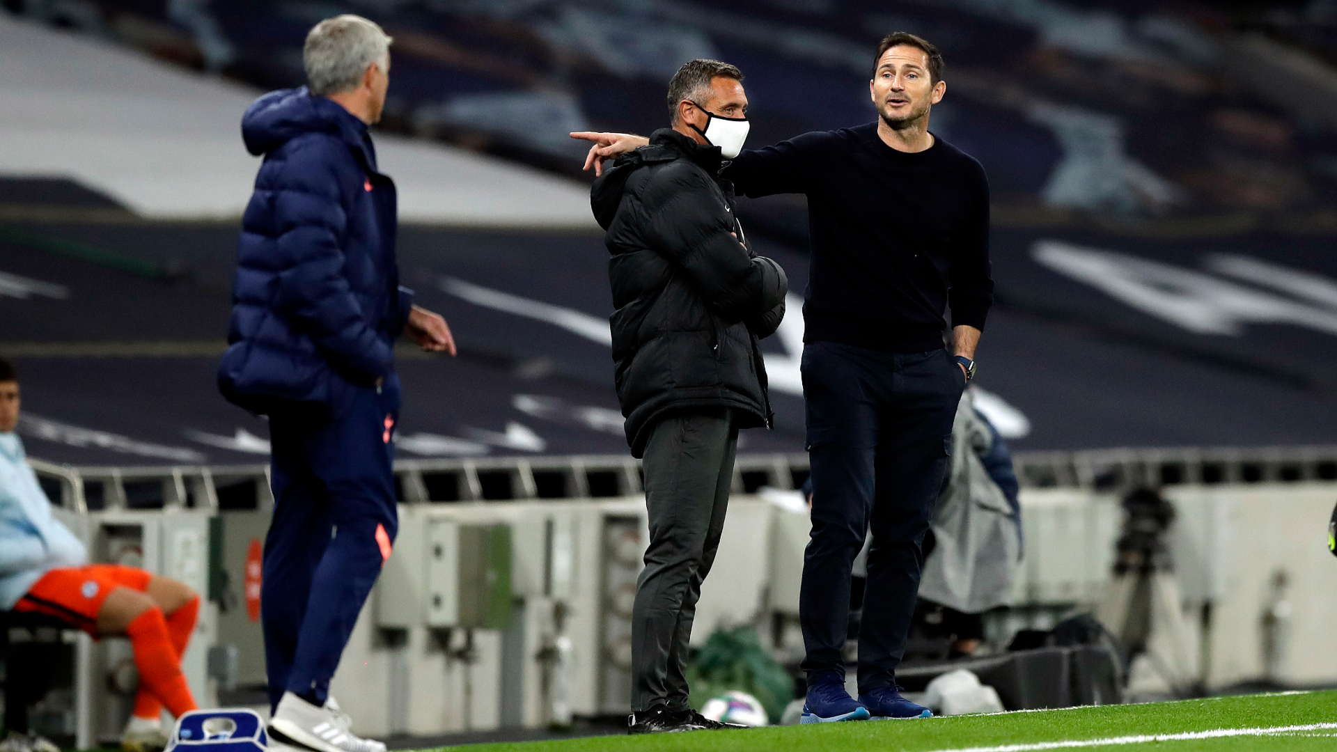 Tensions will be high as Mourinho and Lampard face off in a high stakes clash at the top of the English Premier League standings
