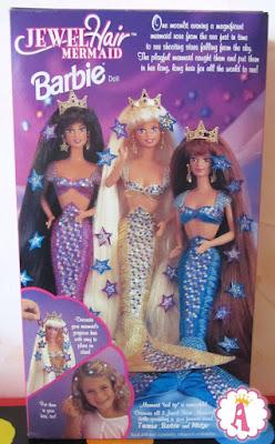 Куклы из коллекции Barbie Jewel Hair Mermaid 1995