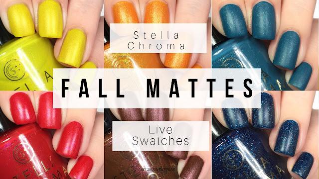 Stella Chroma Fall Mattes