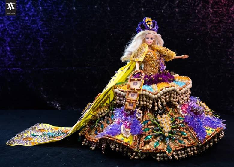 Barbie Dolls in Flores de Mayo, Lucban Quezon