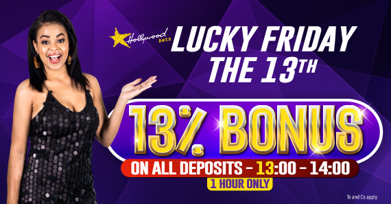 13% Friday the 13th Bonus Promotion 2020