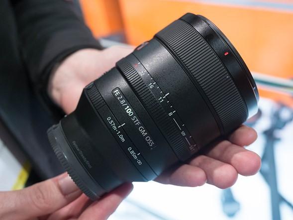 Объектив Sony FE 100 mm F/2.8 STF GM OSS SEL100F28GM*