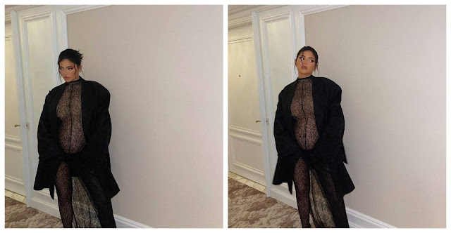 Check out more Photos of Kylie Jenner as she shows off her baby bump (Photos)