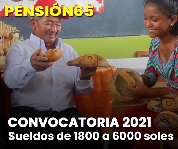 ATENCIÓN: Abren Nueva CONVOCATORIA 2021 Y FECHAS De Pago De PENSIÓN 65
