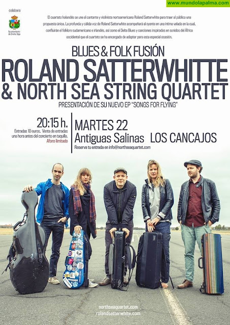 BLUES & FOLK FUSIÓN: Roland Satterwhite & North Sea String Quartet