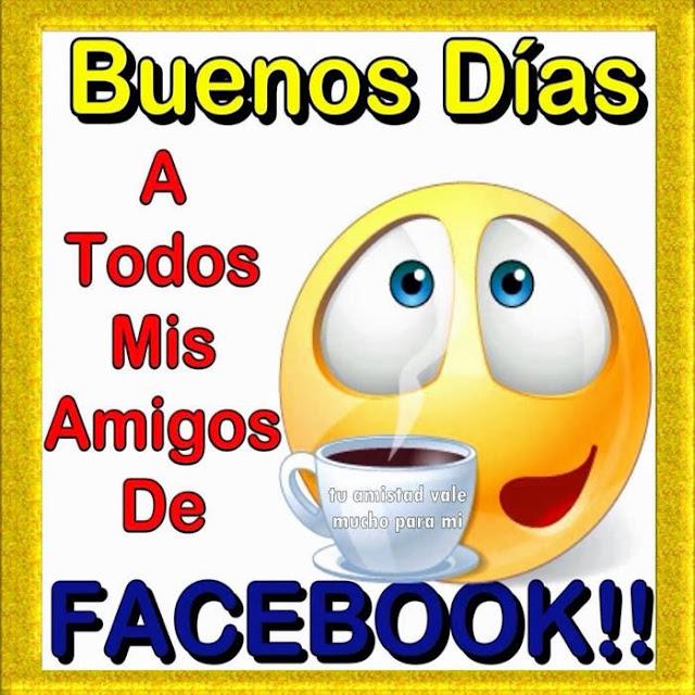 Tarjetas de buenos dias para facebook