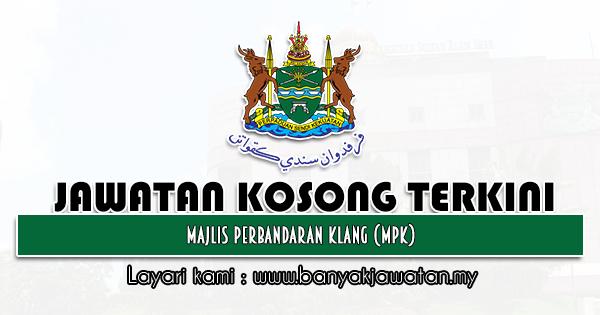 Jawatan Kosong 2021 di Majlis Perbandaran Klang (MPK)