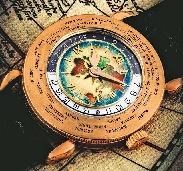 Patek Philippe ref.1415 World Time Christie's Lot 2508