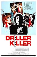 Póster película Killer El asesino del taladro