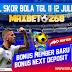 Hasil Pertandingan Sepakbola Tanggal 11 - 12 Juli 2020