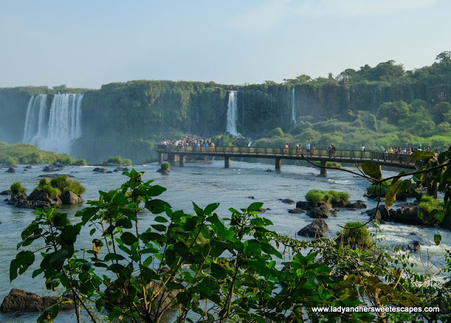 boardwalk to Iguazu Falls