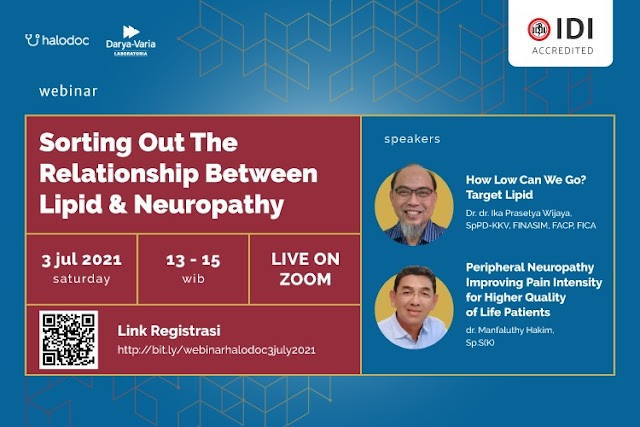 (FREE SKP IDI) Webinar *Sorting Out The Relationship Between Lipid & Neuropathy*
