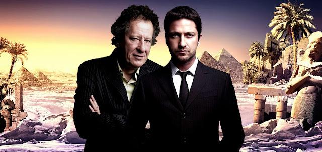 Geoffrey Rush si Gerard Butler in distributia filmului Gods Of Egypt