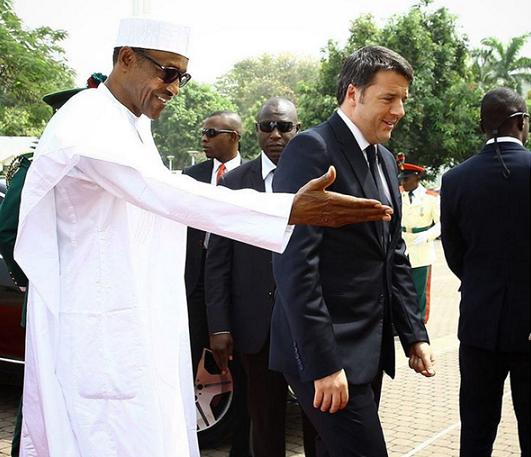 matteo renzi in nigeria