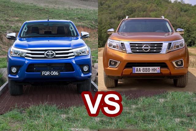 Chọn xe bán tải Toyota Hilux hay Nissan Navara tại Việt Nam ?
