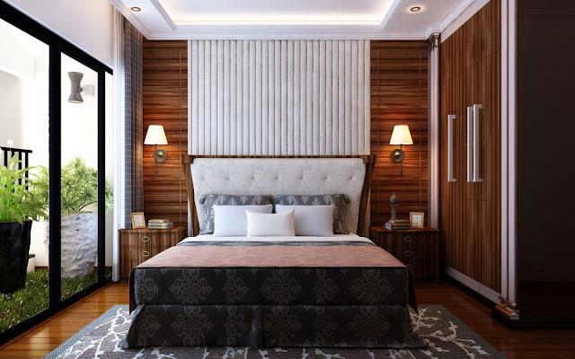 phòng ngủ nhà ống đẹp