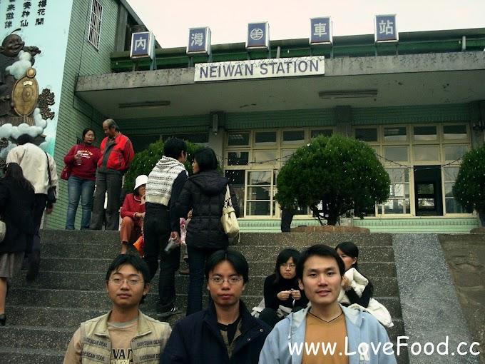 新竹橫山-內灣車站(台鐵)-玩內灣老街搭火車最方便-nei wan che zhan