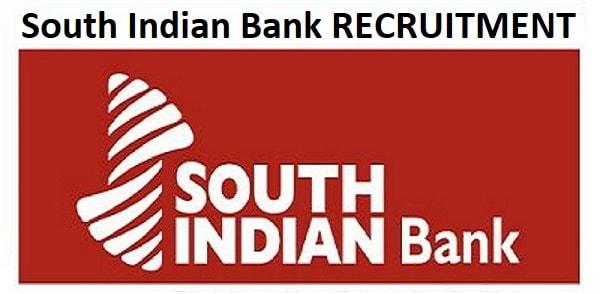 South Indian Bank CA, CSA Recruitment 2020