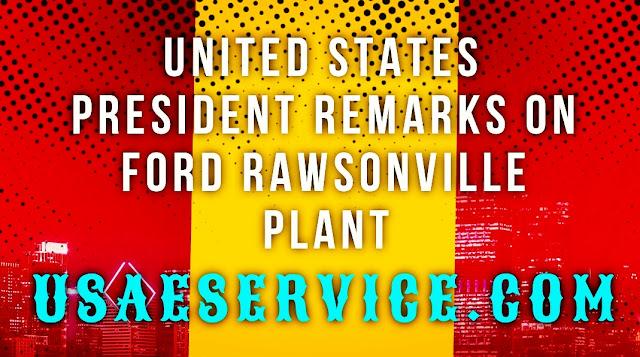 United States President Remarks