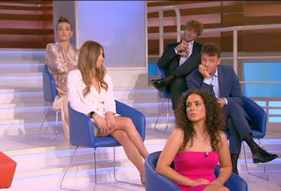 Camilla Ghini influencer Chiara Forum Canale5 13 settembre